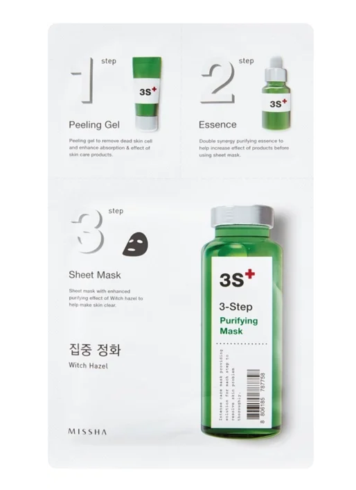 Missha Purifying Sheet Mask skincare