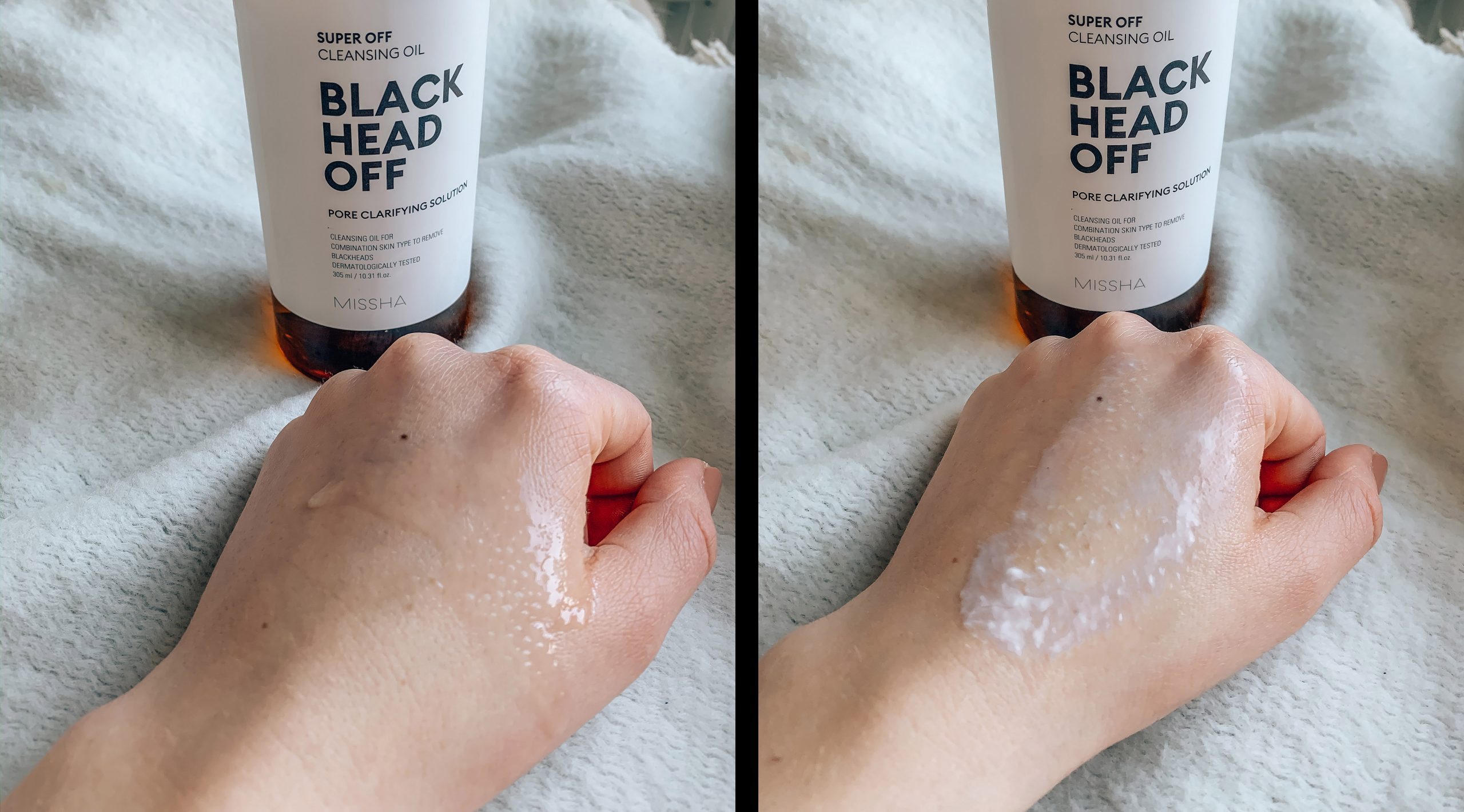 MISSHA Black Head Off Cleansing Oil